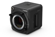 """""""Enclosing a super-sensitive full-HD full-frame CMOS sensor inside a small form factor body, the new Canon Multi-Purpose Camera can record color images in near-complete darkness, while. Wireless Camera System, Remote Camera, 35mm Camera, Spy Camera, Camera Gear, Full Frame Camera, Videos, Camera Reviews, Surveillance System"""