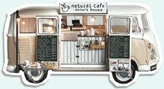 nunu's houseのミニチュア・ドールハウス ... 1:12th scale miniature 'snacks on wheels'