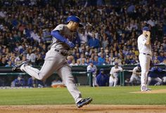 NLCS 10-21-2015. The Mets' Travis d'Arnaud followed a three-run homer by Lucas Duda with a home run of his own in the 1st. Final 8-3 Mets swept Cubs. Photo: David J. Phillip/Associated Press.