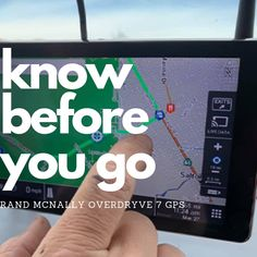 Seasoned RVers know there's more to planning a trip than simply choosing a destination and picking the fastest route possible. Read how this GPS is paving the way and helping to get you to your destination safely, quickly and efficiently! Rv Accessories, Camping Gadgets, How To Get, How To Plan, Oh The Places You'll Go, Apps, Tech, Reading, Travel