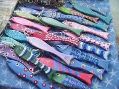 Fish Ornaments/Shade and Light Pulls