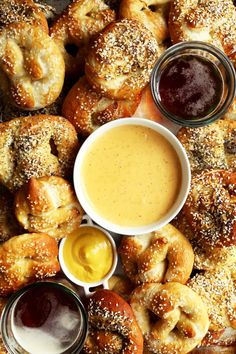 Beer Cheddar Sauce for Pretzels and Other Carbs | Joy the Baker