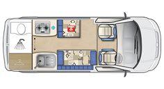 Topaz VW Van Conversion | Motorhome | Auto-Sleepers