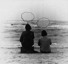 Sigurður Guðmundsson, Horizontal thoughts, 1970  #Philosophy  #Conceptual Photography