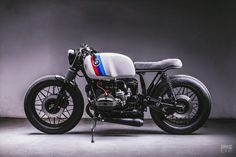 A BMW cafe racer built by the boss of the team Campos Racing Bmw Cafe Racer, Cafe Racer Build, Cafe Racer Motorcycle, Cafe Racers, Bmw Motorcycles, Custom Motorcycles, Custom Bikes, R Cafe, Moto Cafe