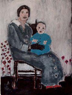 mother and baby boy, Miz Katie
