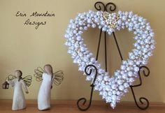 Satin Heart Cluster Heart Fabric Hearts Table Decoration Heart Wedding Baptism Communion