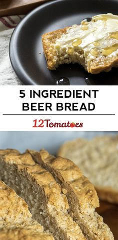 5-Ingredient Beer Bread