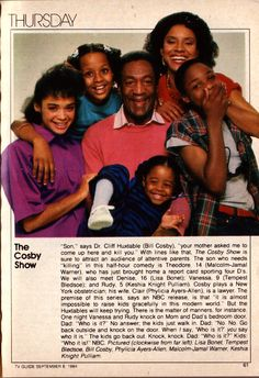 September 20, 2013 marked The Cosby Show's 29th anniversary!