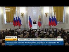 Anschluss der Krim an Russland - Rede von Wladimir Putin am 18.03.2014