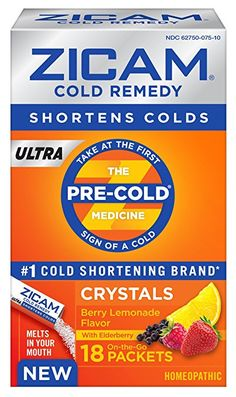 Start Your Year Right with Zicam ULTRA Berry Lemonade Crystals AD  #ZicamCrowd