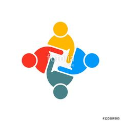 Find People Group Teamwork Logo Vector Graphic stock images in HD and millions of other royalty-free stock photos, illustrations and vectors in the Shutterstock collection. Online Marketing Companies, Marketing Program, Internet Marketing, Teamwork Logo, Icon Design, Logo Design, Logo Clipart, People Logo, Round Logo