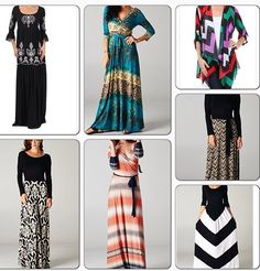 I'm in love with Maxi skirt