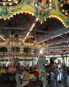 Pin by Sally Jacob on Carousels & Merry Much More! | Pinterest