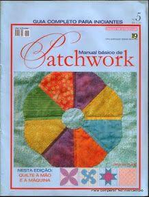 Manual Basico de Patchwork 5 - Lucia Villela - Álbumes web de Picasa Origami, Patchwork Tutorial, Sewing Magazines, Web Gallery, Book Quilt, Bargello, Hand Quilting, Book Crafts, Paper Piecing