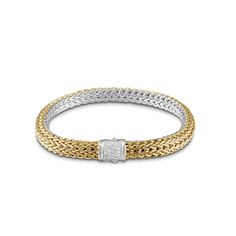New arrival: Small Reversible Bracelet with Diamond Pave. #JohnHardy