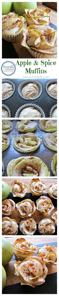Apple and Spice Muffins Easy to make and delicious and impressive! #apple #baking #recipes
