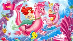 ariel___disney_princess_wallpaper-852x480.jpg (852×480)