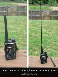 A simple BaoFeng Antenna Upgrade might be all you need to extend the range and functionality of your budget ham radio!