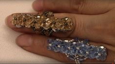 Handmade Jewelry: Super Chic Ring - FREE YouTube Tutorial by MarielBeadsAndBeyond Beading Channel