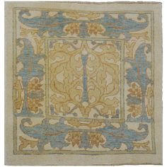 Donegal William Morris 21st Century Oriental Rug | From a unique collection of antique and modern western european rugs at https://www.1stdibs.com/furniture/rugs-carpets/western-european-rugs/