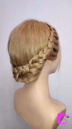 Easy Hairstyles For Long Hair, Braids For Long Hair, Up Hairstyles, Pretty Hairstyles, Braided Hairstyles, Viking Hairstyles, Braids Cornrows, Crown Braids, Bob Braids