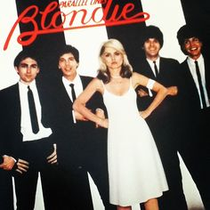 Old Blondie record album cover taken with Instagram - and yes, I spin vinyl.
