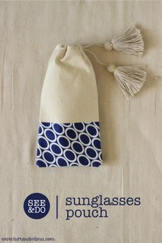 See & Do | Tasselled Sunglasses Pouch — luri & wilma
