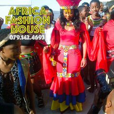 Zulu Traditional Wedding Dresses, Zulu Traditional Attire, African Traditional Dresses, Traditional Fashion, African Fashion Ankara, African Print Dresses, African Print Fashion, Africa Fashion, African Dress