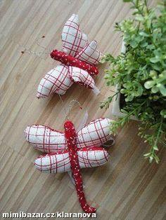 ARTE COM QUIANE - Paps,Moldes,E.V.A,Feltro,Costuras,Fofuchas 3D: Molde Libélula e borboleta de tecido