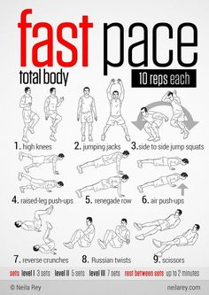 Total body fast