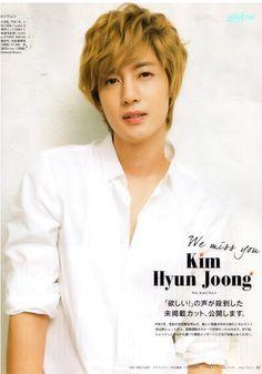 Kim Hyun Joong Calendar 2012-2013 の画像 Only Kim Hyun Joong