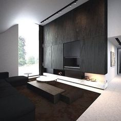 Modern Houses Style Living Room Design