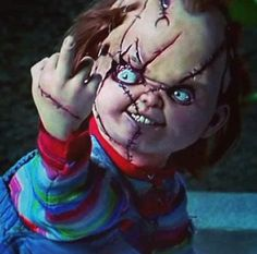 Child's Play - Chucky Giving The Finger