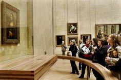 Mona Lisa at the Louvre Mona Lisa Original Painting, Original Paintings, Toulouse, Lisa Gherardini, Bordeaux, Ancient World History, Paris Images, Lisa S, Old Art