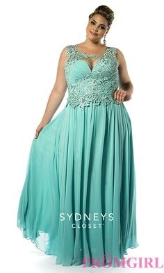 Prom Dresses, Celebrity Dresses, Sexy Evening Gowns: Sydneys Closet Plus Size Prom Dress