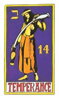 Temperance Tarot of Papus Temperance Tarot Card, Tarot Cards, Online Tarot, Tarot Major Arcana, Human Condition, Tarot Decks, Archetypes, Art Inspo, Movie Posters