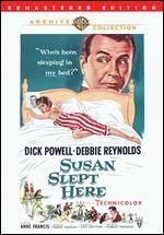 #SUSAN SLEPT HERE W/Dick Powell and Debbie Reynolds 1954.  Upbeat comedy about a troubled #17-year-old girl who becomes an unexpected source of inspiration for an Oscar-winning screenwriter working on a script about a delinquent.  She moves in and they start falling for each other---EHHHH isn't this a bit of weird I guess the 50's thought 17 and 40 something was OK>