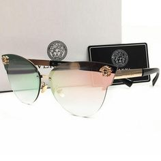 Perfect Versace Women Casual Popular Summer Sun Shades Eyeglasses Glasses Sunglasses