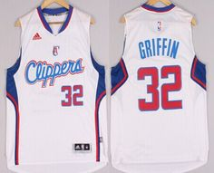 Los Angeles Clippers #32 Blake Griffin Revolution 30 Swingman 2014 New White Jersey