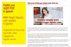 publish your guest post in Spanish on my PR2 blog by vaargentina