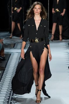versace 2015 collection | This is Versus Versace Spring 2015 Ready to Wear Collection. New York ...