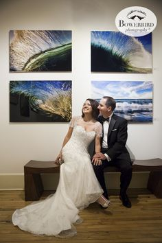 Wedding Photography at the Art Gallery at Cavallo in Sausalito. © Bowerbird Photography 2015