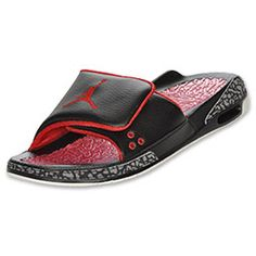 Jordan retro 3 hydro slide #sandals #ForYourNakedFeet #FinishLine