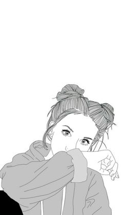 54 Best OUTLINED DRAWINGS Images On Pinterest