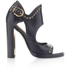 Salvatore Ferragamo Narny Black Leather Shoes - Sandals - Boots - Zapatos - Sandalias - Botas - Heels
