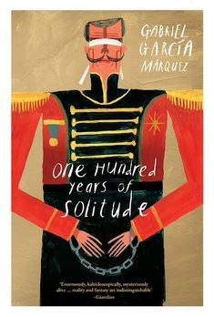 One Hundred Years of Solitude - Book cover by Tom Rainford - Gabriel Garcia Marquez - http://thesubwayreader.com/2014/04/top-60-gabriel-garcia-marquez-book-covers/