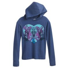 Mudd Tiger Hooded Tee - Girls' Plus