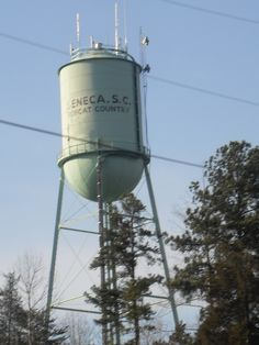 Seneca, South Carolina Water Tower