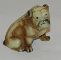 Vintage Antique  Miniature Bulldog Figurine (Good Looking  Guy) Free Shipping $19.99 Free Shipping